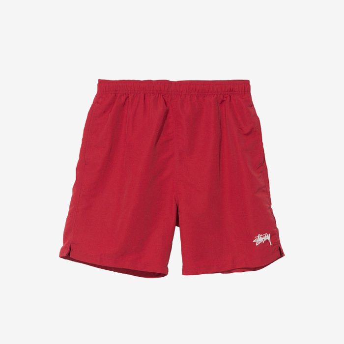 스투시 STOCK WATER SHORT / RED