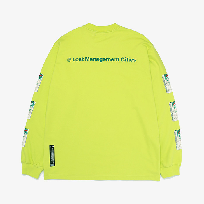 엘엠씨 LMC CANDY LSV SWEAT TEE // lime