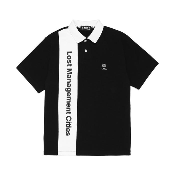 엘엠씨 LMC VERTICAL LOGO PK POLO TEE // black