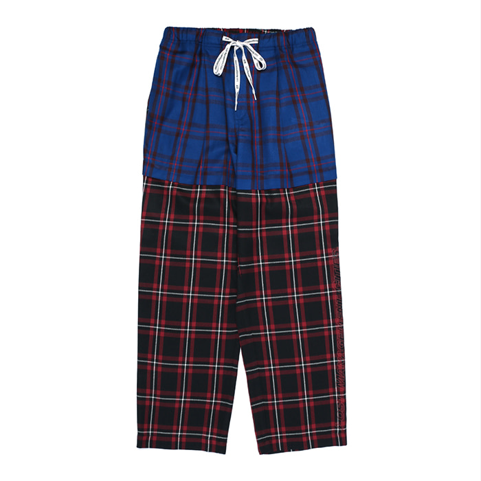 엘엠씨 LMC PLAID SUIT PANTS // red
