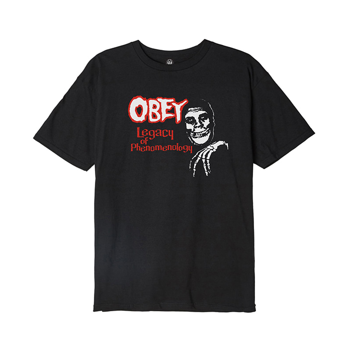 오베이 OBEY MISFITS LEGACY OF PHENOMENOLGY // BLACK