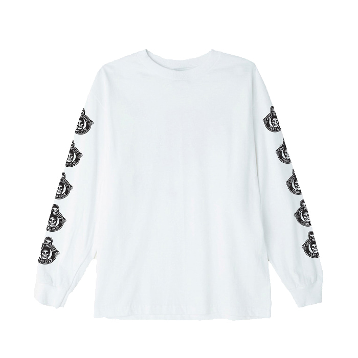 오베이 OBEY MISFITS FIEND CLUB L/S TEES // WHITE