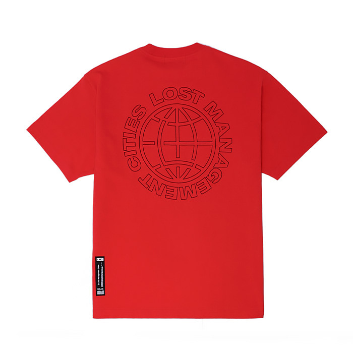 엘엠씨 LMC MICRO BOX LOGO TEE/RED (재입고)