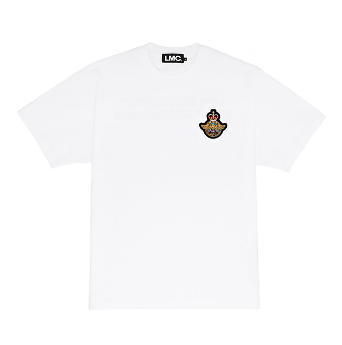 엘엠씨 LMC ROYAL EMB TEE/white(재입고)