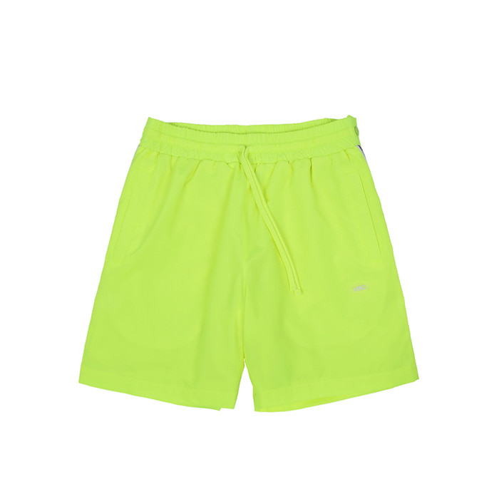 엘엠씨 LMC ATHLETIC SNAP SHORTS/NEON GREEN