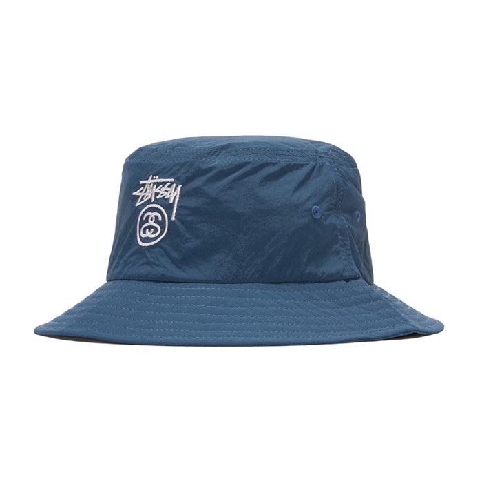 스투시 CRUSHABLE STOCK LOCK BUCKET/NAVY