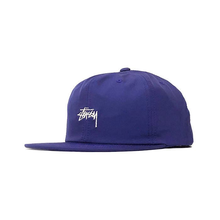 스투시 STOCK POLY COTTON CAP/BLUE