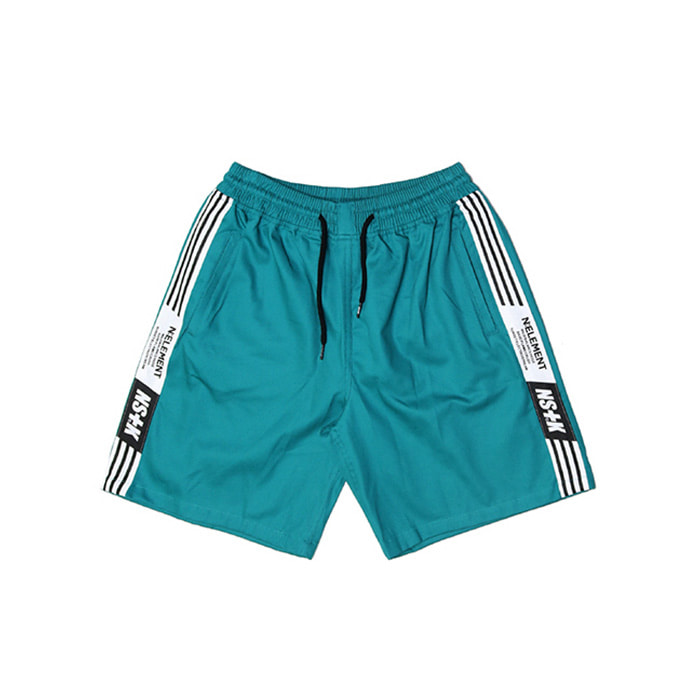 네스티킥 NLMT LINE SHORT PANTS/GREEN