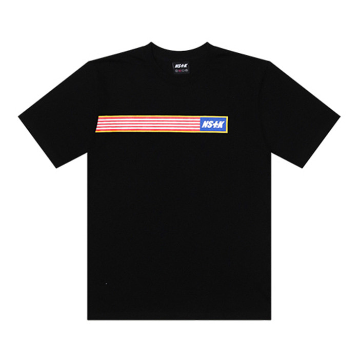 네스티킥 NSTK DRAWOVER TEE/BLACK
