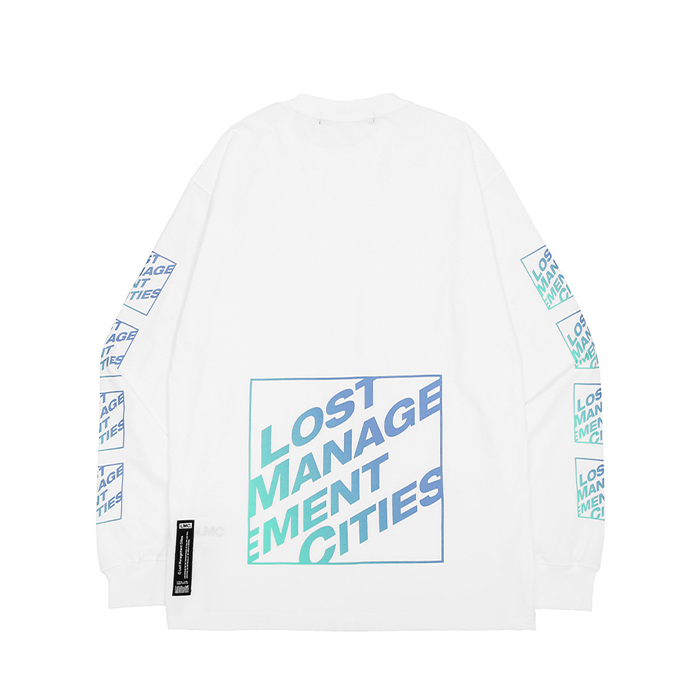 엘엠씨 롱슬리브 LMC SQUARE LONG SLV TEE/WHITE