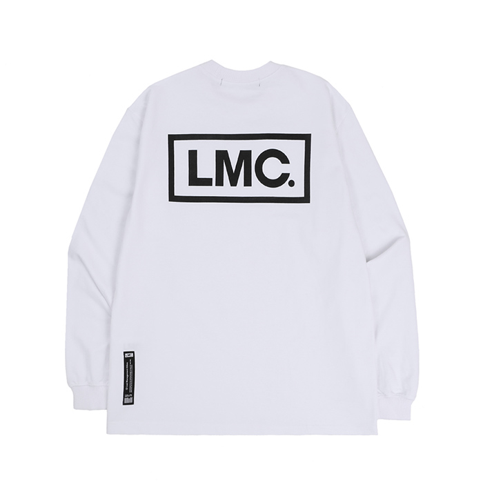 엘엠씨 롱슬리브 LMC BOX LOGO LONG SLV/WHITE
