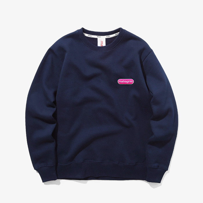 마하그리드 맨투맨 SMALL ARCLOGO CREWNECK/NAVY
