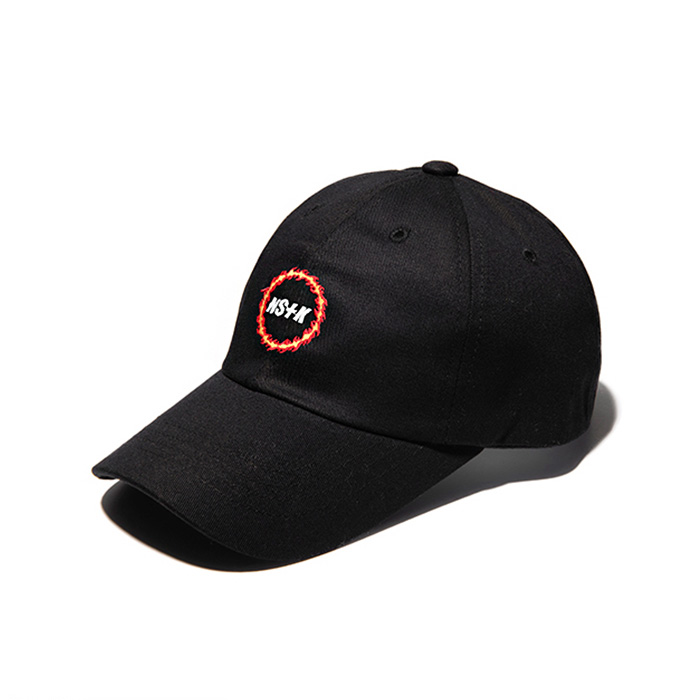 네스티킥 [NK] NSTK FLAME CIRCLE CAP/BLACK