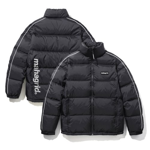 마하그리드 패딩 REFLECTIVE PUFFY DOWN JACKET/BLACK