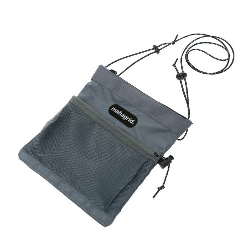 마하그리드 REFLECTIVE LOGO SACOCHE BAG/GREY