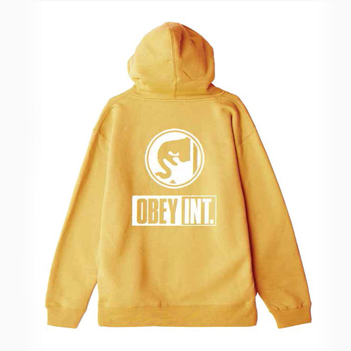 오베이 OBEY INT. ICON PULLOVER HOOD/GOLD