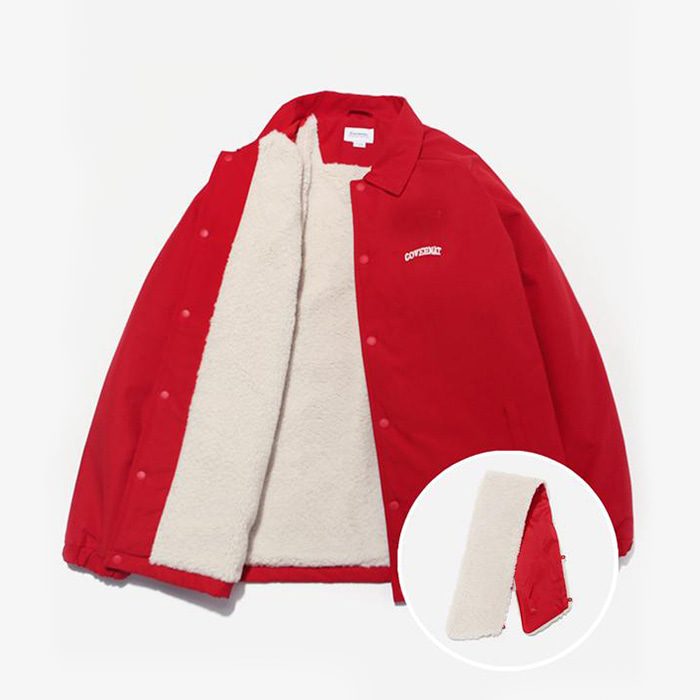 커버낫 BOA COACH JACKET RED