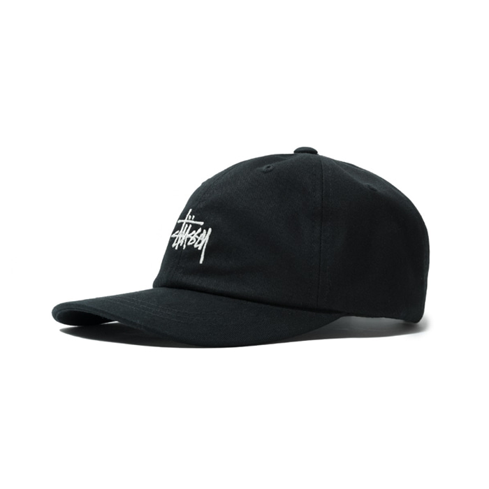 스투시 HO18 STOCK LOW PRO CAP/BLACK
