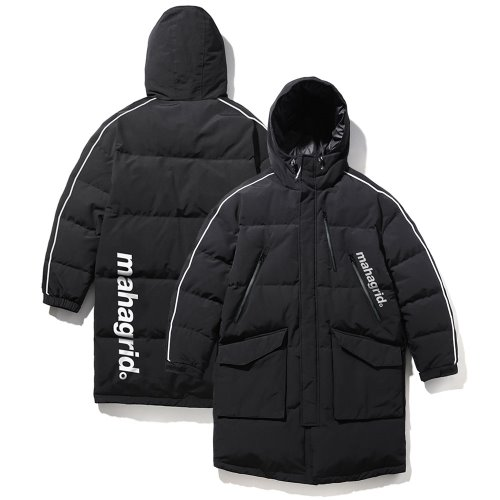 마하그리드 롱패딩 ARCTIC OVERSIZED DOWN PARKA/BLACK
