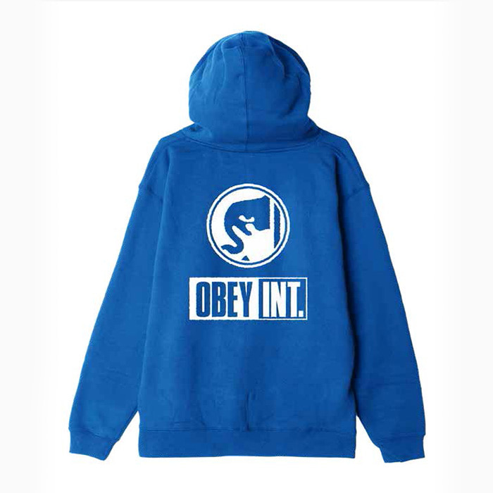 오베이 OBEY INT. ICON PULLOVER HOOD/ROYAL BLUE