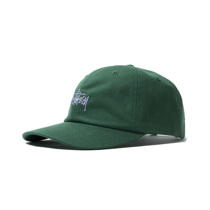 스투시 HO18 STOCK LOW PRO CAP/GREEN