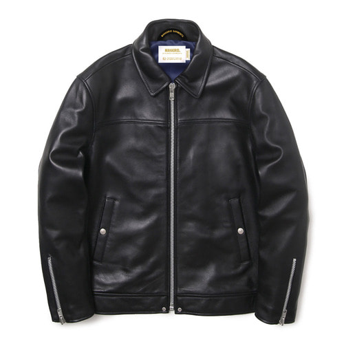 마하그리드 SINGLE RIDERS JACKET(LAMBSKIN)/BLACK