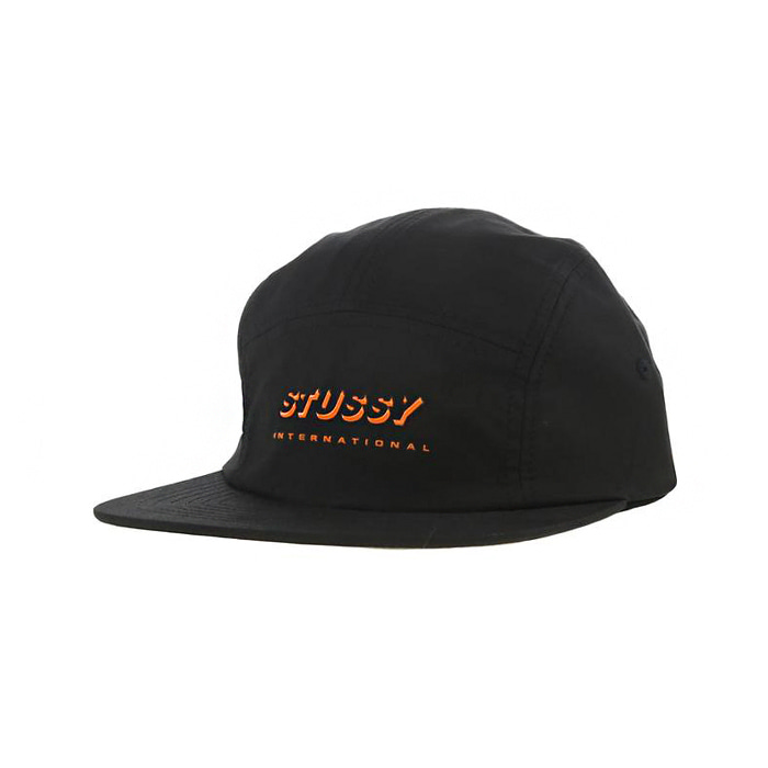 스투시 SHADOW LOGO CAMP CAP/BLACK
