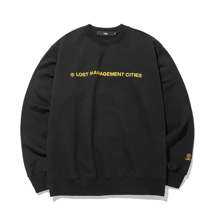 엘엠씨 LMC CAPITAL LOGO SWEATSHIRT black