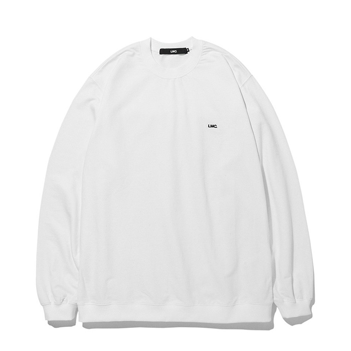 엘엠씨 LMC STRAIGHT RIB SWEAT TEE white