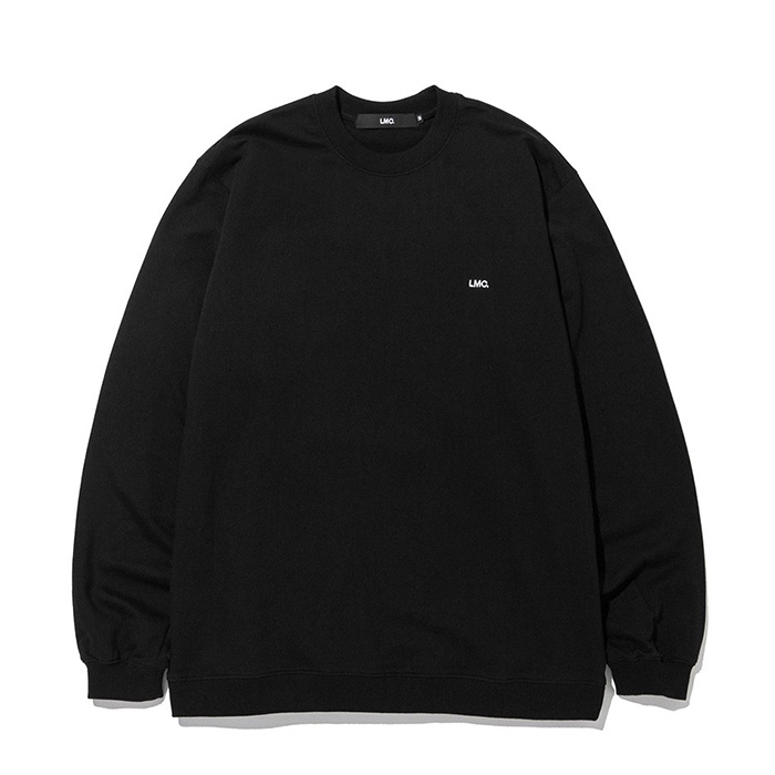 엘엠씨 LMC STRAIGHT RIB SWEAT TEE black