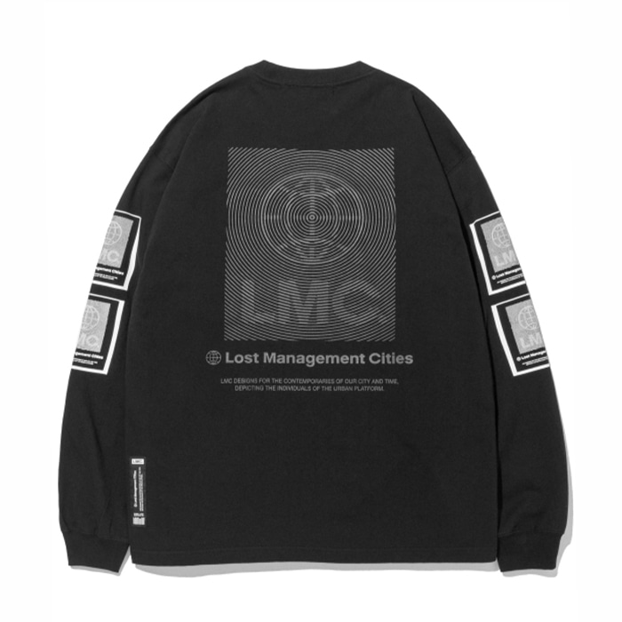 엘엠씨 롱슬리브 LMC FINGERPRINT LONG SLV TEE black