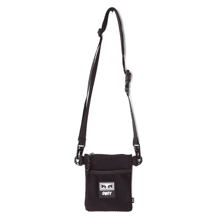 오베이 가방 CONDITIONS SIDE POUCH/BLACK