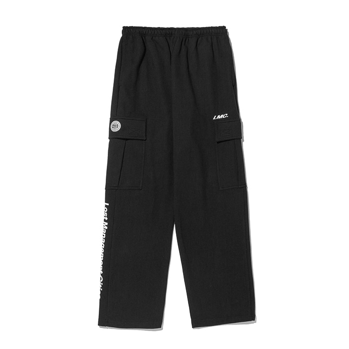 엘엠씨 팬츠 바지 LMC SIDE POCKET SWEAT PANTS black