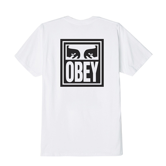 오베이 티셔츠 OBEY EYES ICON/WHITE