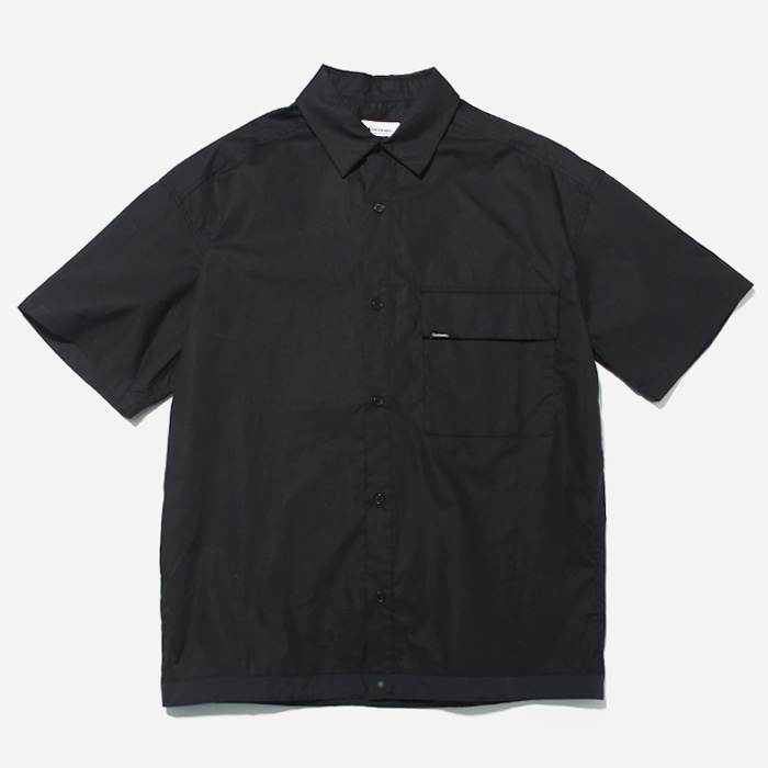 커버낫 반팔셔츠 S/S GLEN CHECK COACH SHIRTS GRAY
