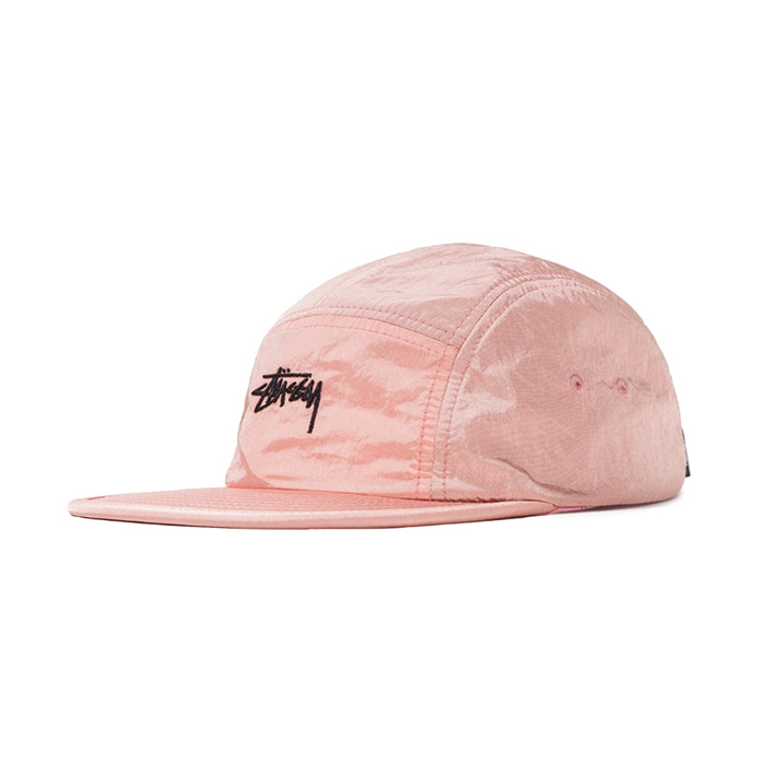 스투시 캠프캡 SU19 STOCK CAMP CAP_Pink