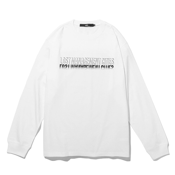 엘엠씨 롱슬리브 LMC SHADOW FN LONG SLV TEE white