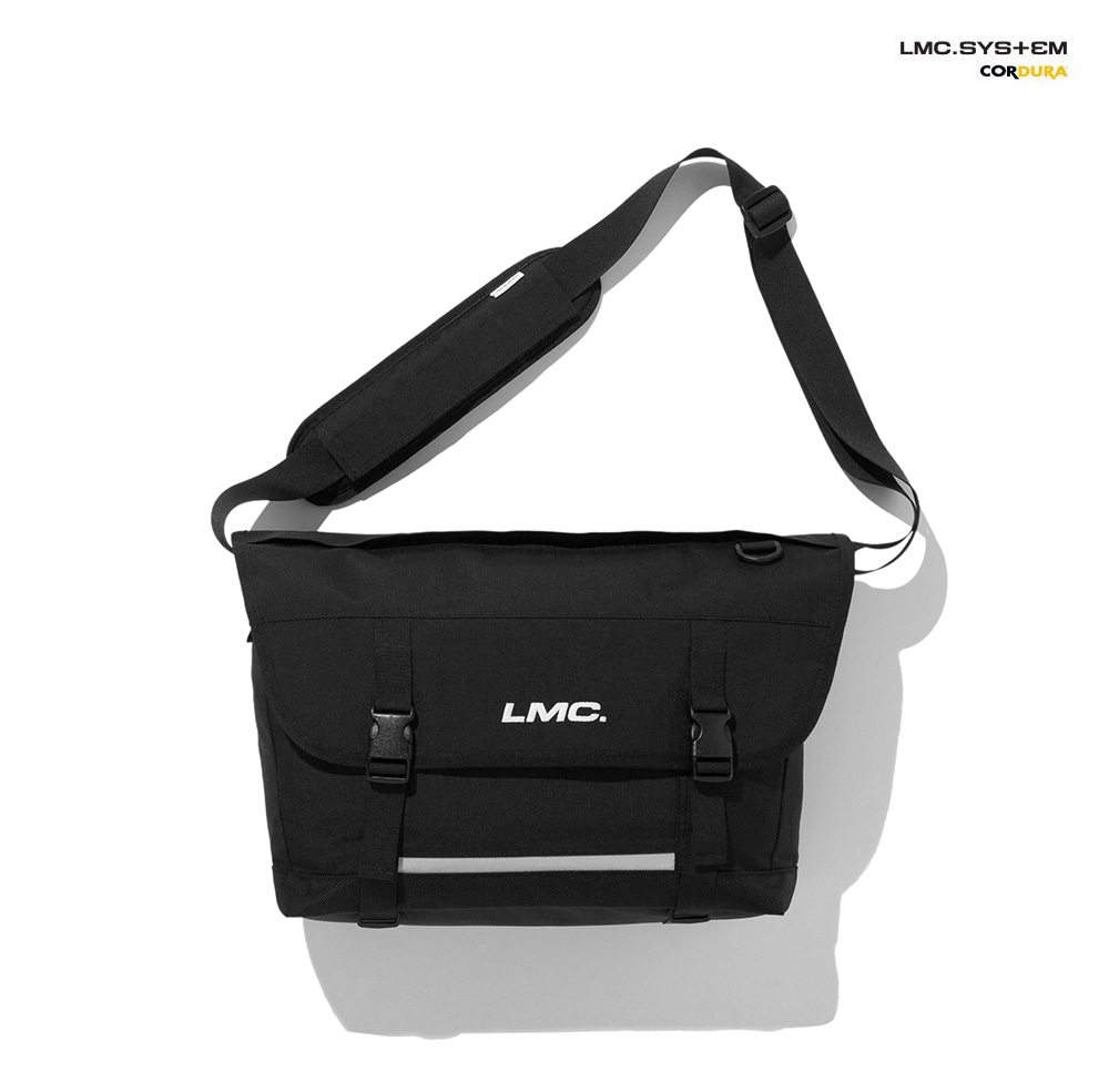 엘엠씨 메신져백 LMC SYSTEM UTILITY MESSENGER BAG black