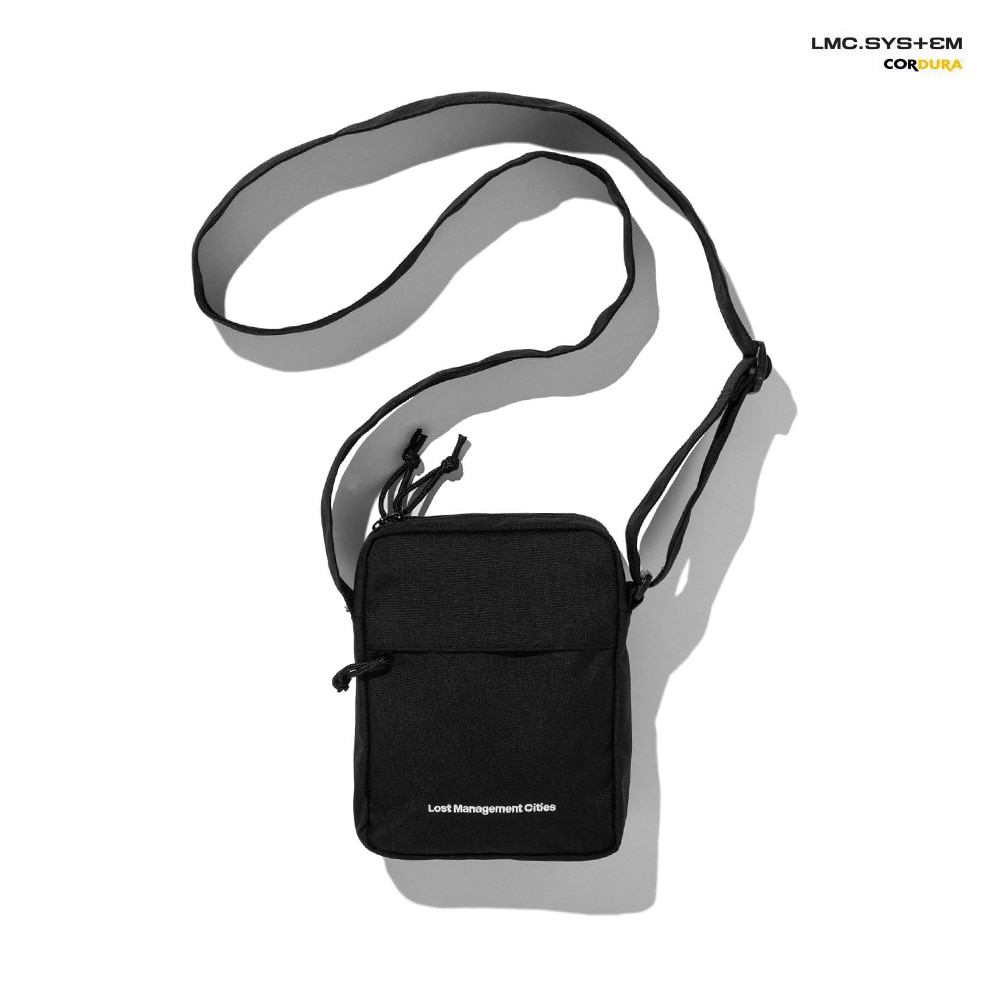 엘엠씨 크로스백 LMC SYSTEM FN CROSS BAG black