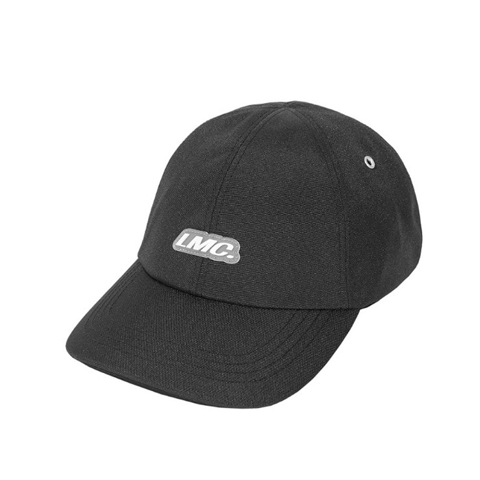 엘엠씨 모자 LMC ITALIC POLY 6 PANEL CAP black