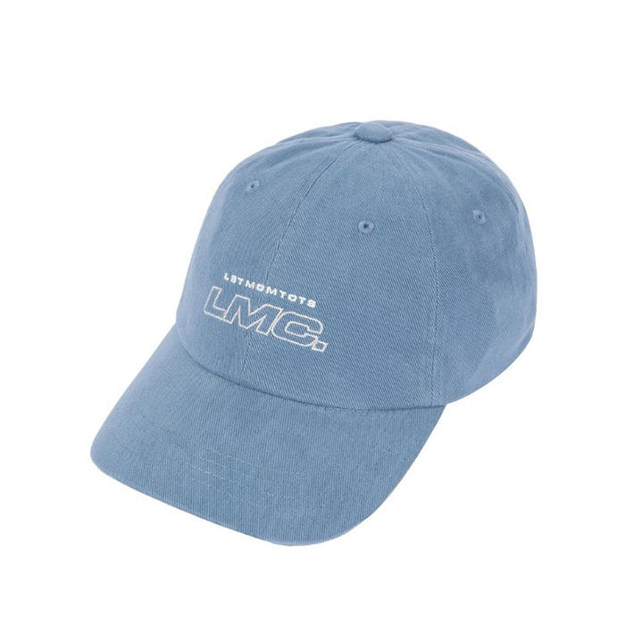엘엠씨 모자 LMC ITALIC OUTLINE 6 PANEL CAP vtg blue