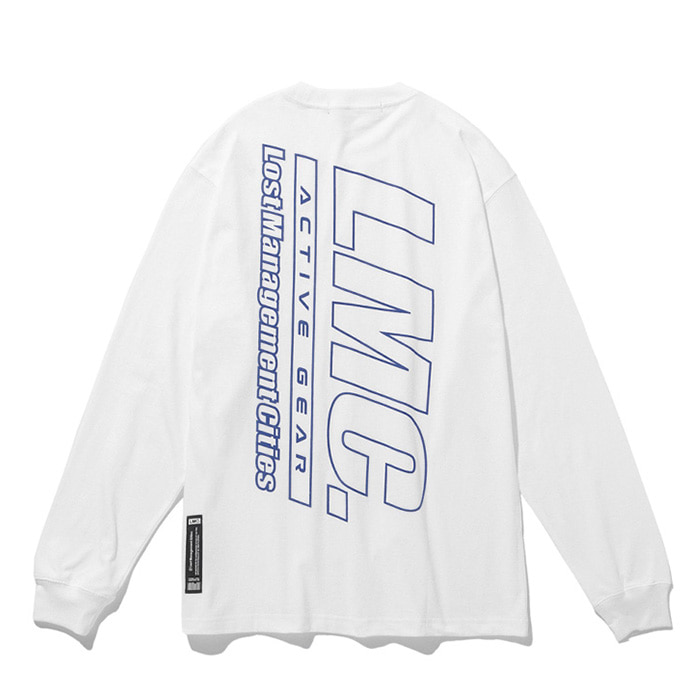엘엠씨 롱슬리브 LMC ACTIVE GEAR LONG SLV TEE white