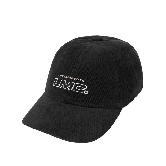 엘엠씨 모자 LMC ITALIC OUTLINE 6 PANEL CAP black
