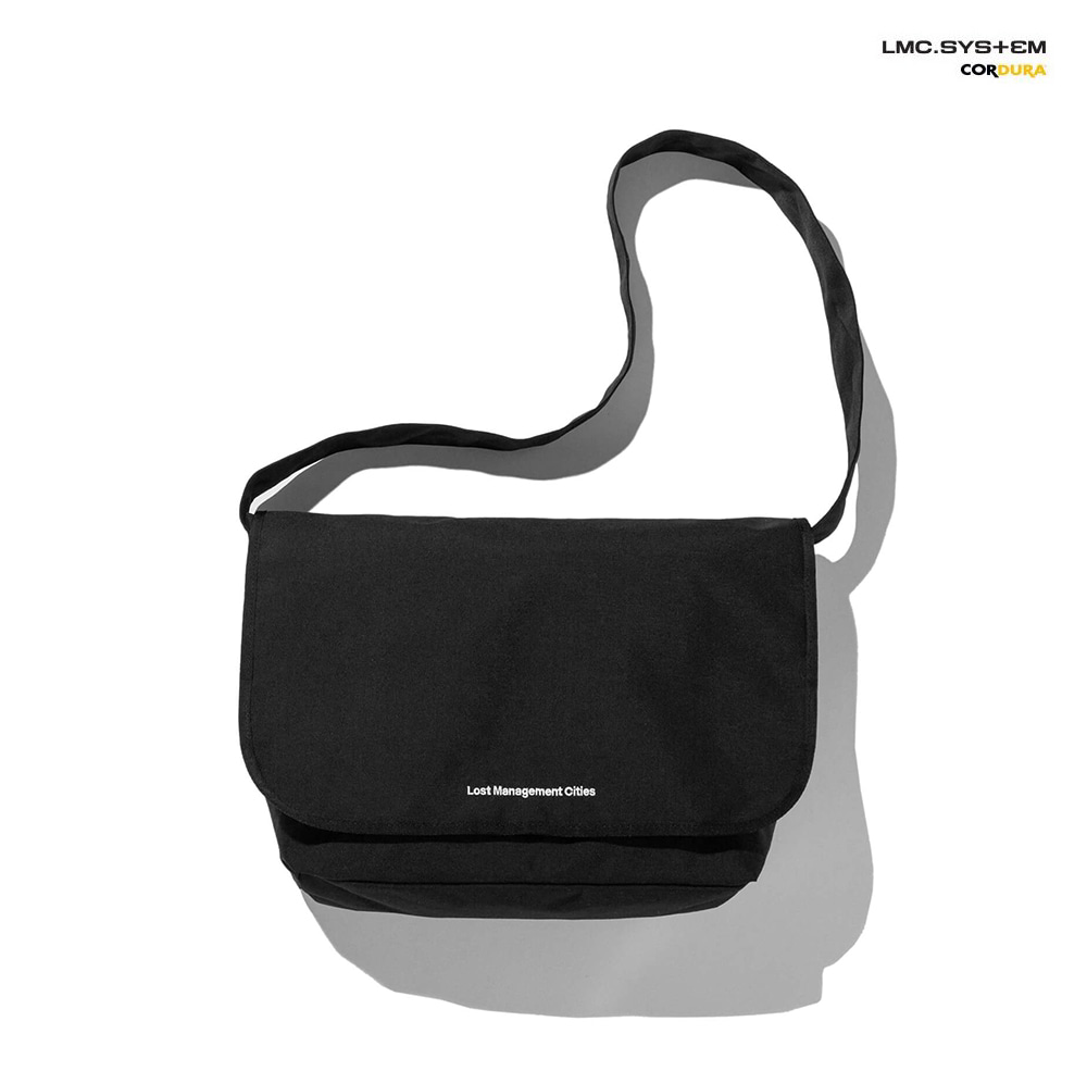 엘엠씨 메신져백 LMC SYSTEM MESSENGER BAG black