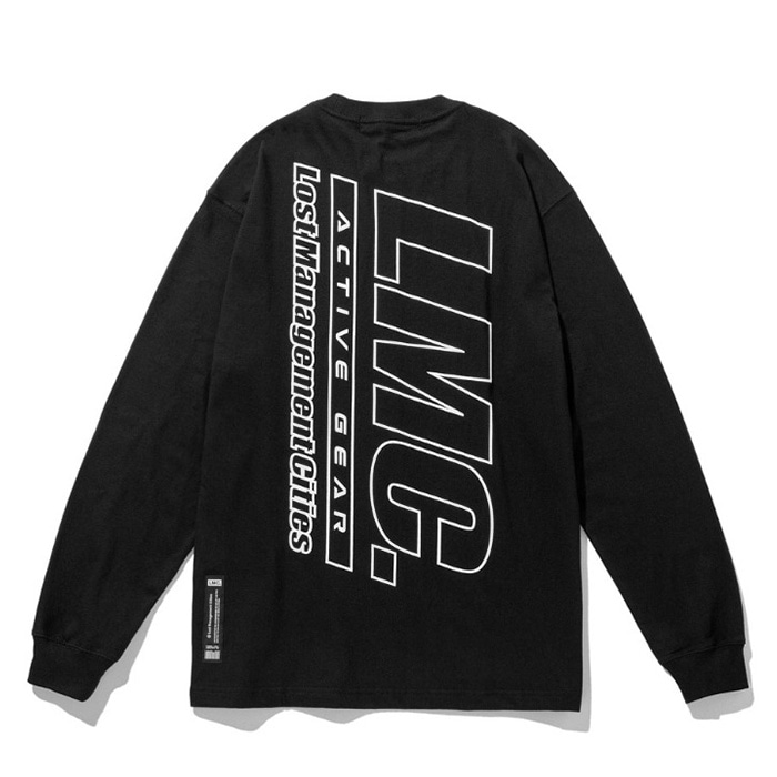 엘엠씨 롱슬리브 LMC ACTIVE GEAR LONG SLV TEE black