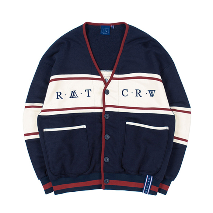 로맨틱크라운 21C BOYS COTTON CARDIGAN navy