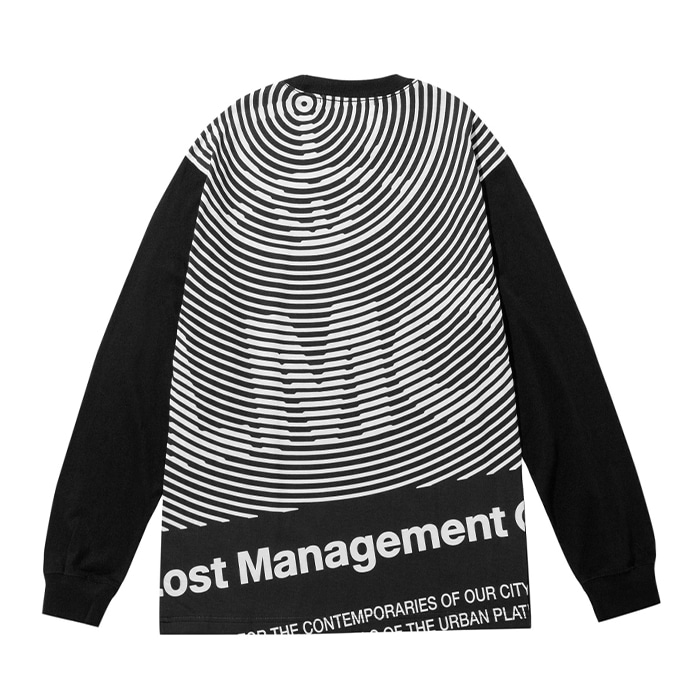 엘엠씨 롱슬리브 LMC OP ART LONG SLV TEE black
