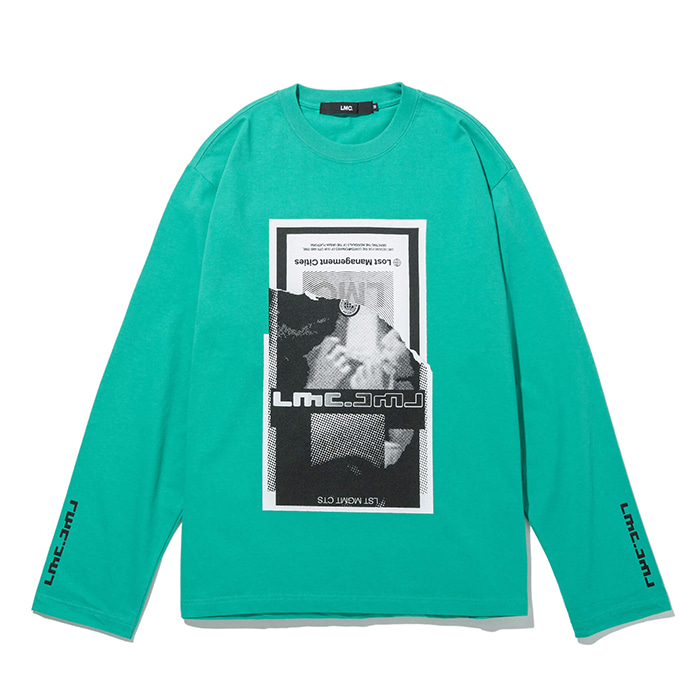 엘엠씨 롱슬리브 LMC TORN SCRAP LONG SLV TEE mint