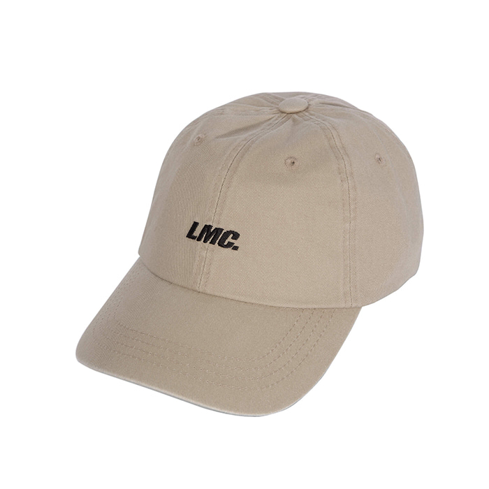 엘엠씨 모자 LMC ITALIC WASHED 6 PANEL CAP beige