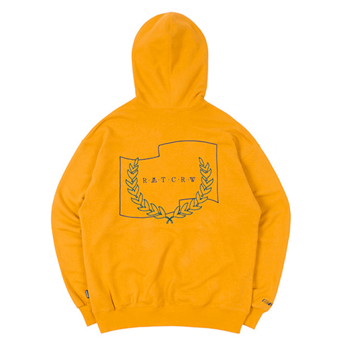 로맨틱크라운 21C BOYS RMTCRW LOGO HOOD/yellow